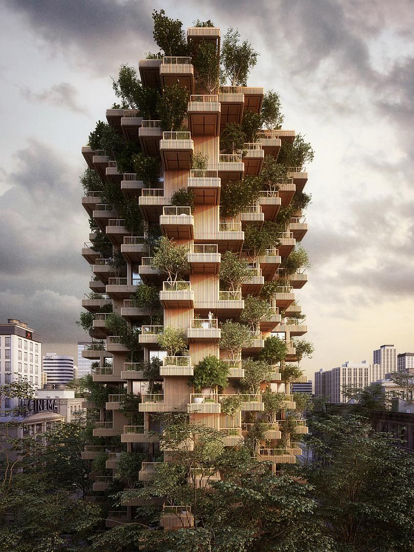 The Toronto Tree Tower by Studio Precht in Canada